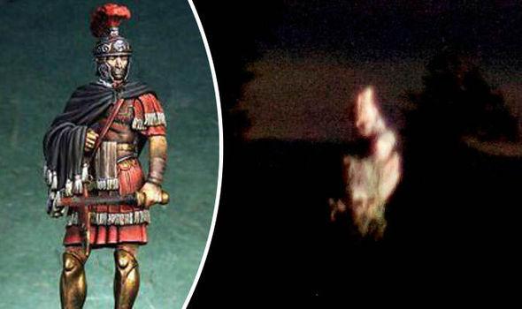 Fantôme d'un soldat romain près du mur d'Hadrien? Ghost-721114