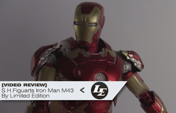 [Video Review][Limited Edition] S.H.Figuarts Iron Man Mark 43 Avengers Age of Ultron - Bandai 4413dd90522351f2a5e4f5ad8fc87548