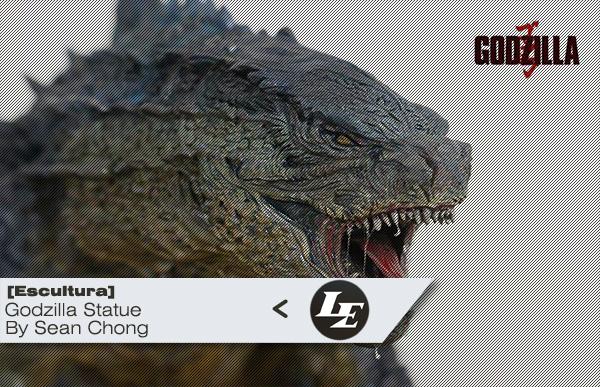 [Escultura] Godzilla Statue | by Sean Chong 73c2bd7b82f996c076c1529a2988b68f