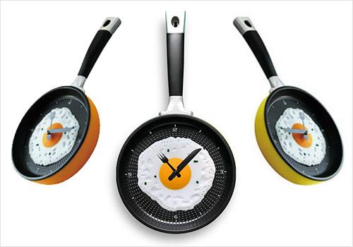 افكار جديده لساعات حائط مطبخك العامر Unusual-clocks