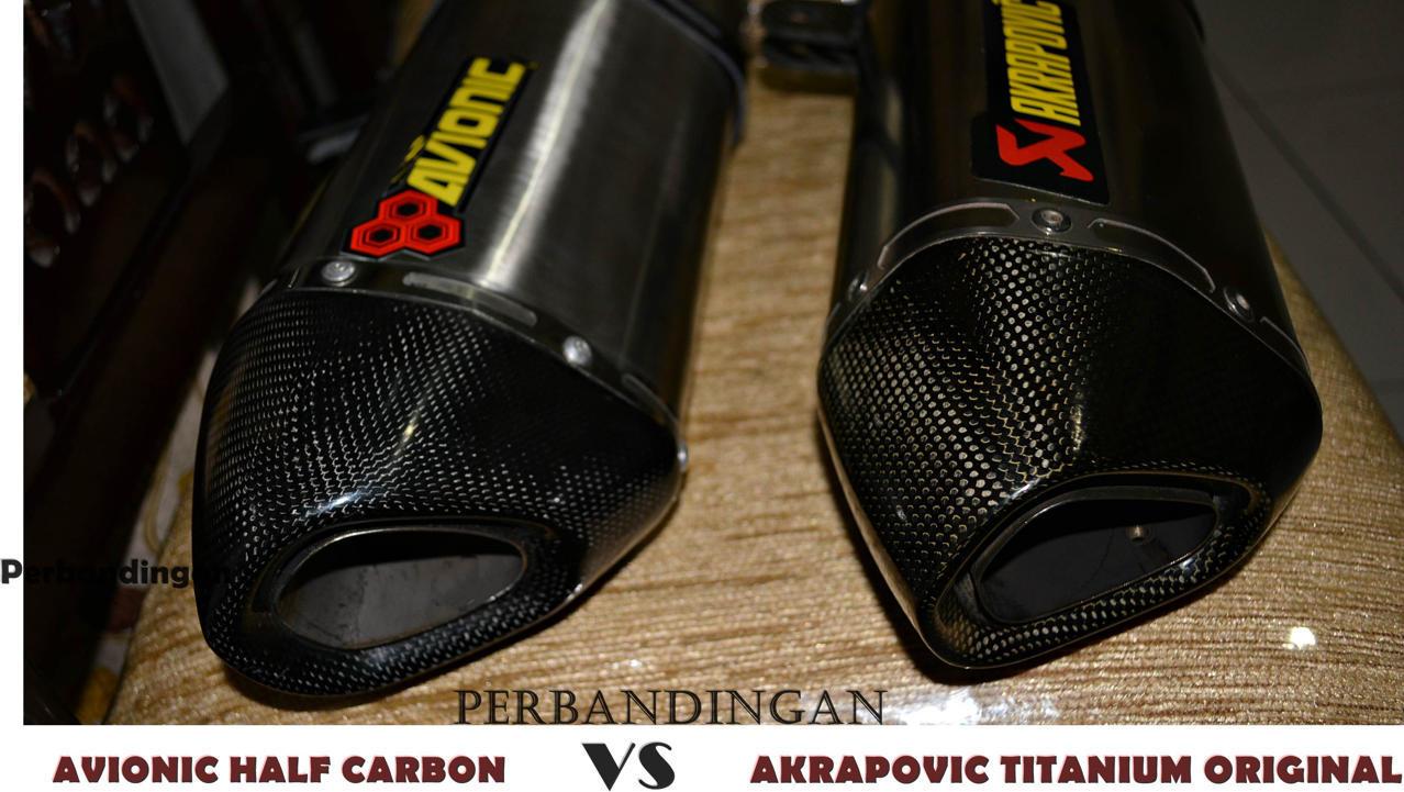 ▒▒▓█▀100% CARBON CEVLAR▀█▓▒▒Knalpot Avionic  Ninja 250Fi / Z250 model Akrapovic 3342555_20131028115440