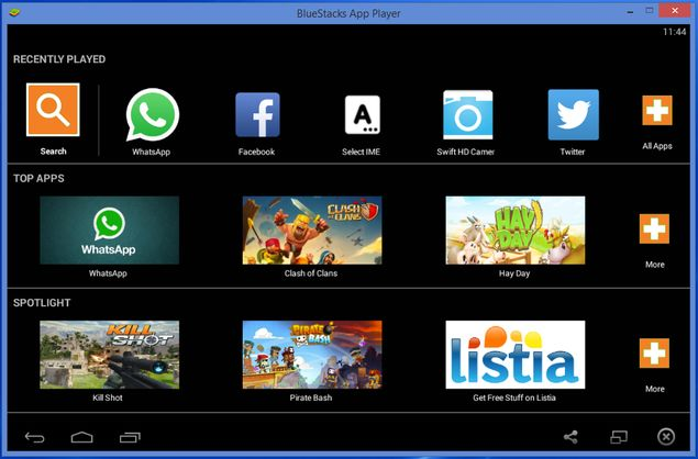trick: how to use whatsapp on your pc Bluestacks_whatsapp