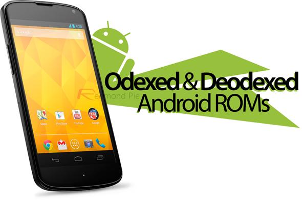 Rom systém Odex § Deodex Deodexed-odexed-android-roms