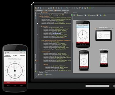 برنامج Android Studio لبرمجة تطبيقات الاندرويد الجديد Android-studio