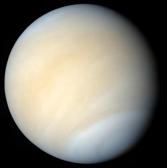Natural Radio Emission from Ionosphere of Venus Image_2376_1-Venus-Metal-Snow