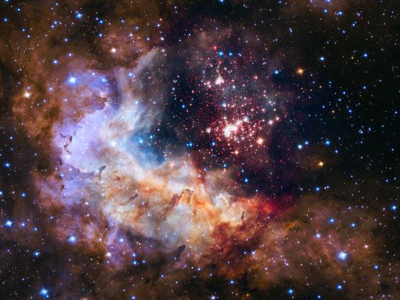 SOFIA Observes Stellar Wind-Driven Bubble around Westerlund 2 Image_2728-Westerlund-2