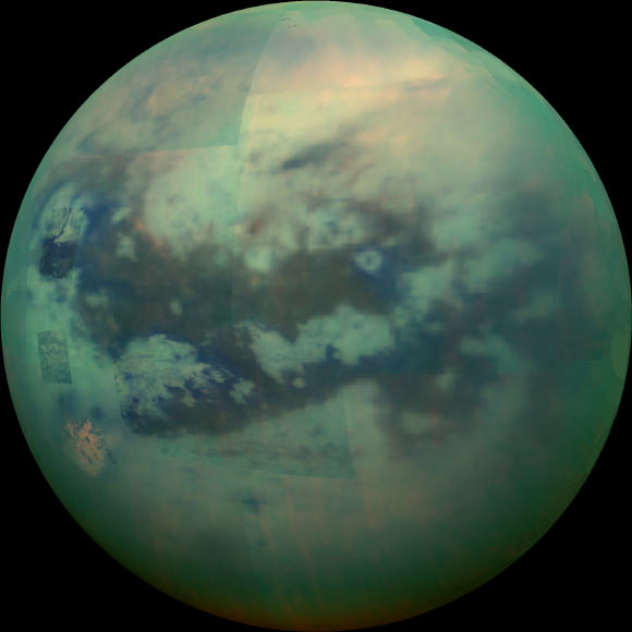 Cyclopropenylidene Detected in Atmosphere of Titan Image_3502-Titan