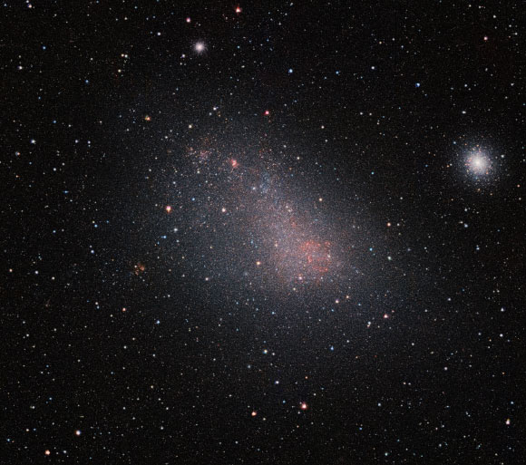 Astronomers Chart 3D Structure of Magellanic Clouds Image_4832-Small-Magellanic-Cloud