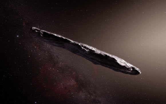 Alien Debris Passed through Solar System in 2017, Astronomer Says Image_5449_1-Oumuamua