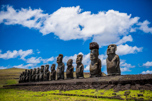 Easter Islanders Built Their Monuments Close to Coastal Freshwater Sources, Researchers Say Image_5606_1-Pukao