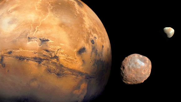 Phobos and Deimos are Fragments of Larger Martian Moon Image_5719-Martian-Moons