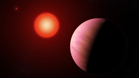 Massive Exoplanet Found within Binary Star System Image_6803-K2-288Bb
