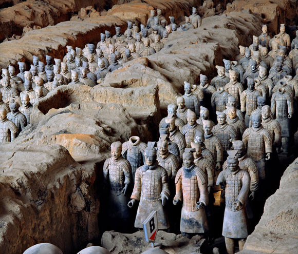 Archaeologists Solve Mystery of Terracotta Army's Pristine Weapons Image_7065_1-Terracotta-Army
