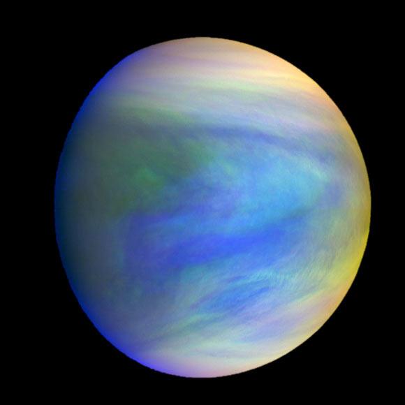 Biosignature Gas Phosphine in Atmosphere of Venus Image_7560-Venus