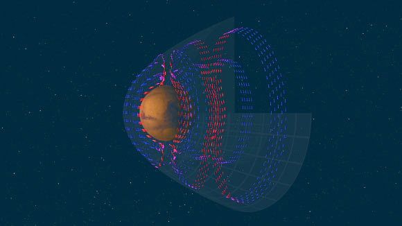 Researchers Create Map of Electric Currents in Magnetosphere of Mars Image_8471-Mars-Electric-Currents