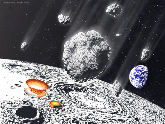 Meteoroids bombarded the Earth-Moon system  Image_8663-Asteroid-Shower