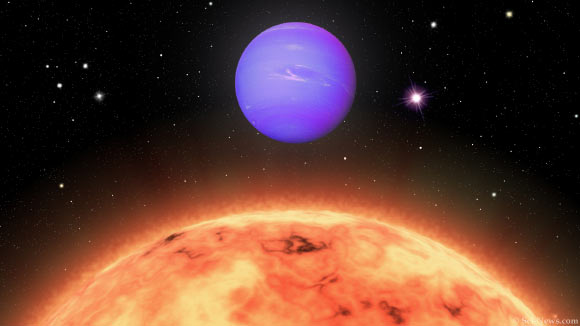 Rare Hot Neptune Found Orbiting Nearby Dwarf Star Image_8797-TOI-824b