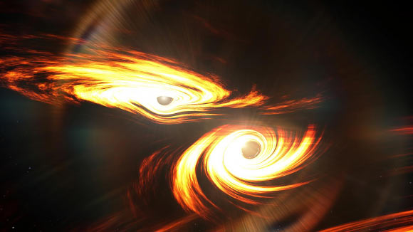 Astronomers Witness Birth of Intermediate-Mass Black Hole Image_8808-GW190521