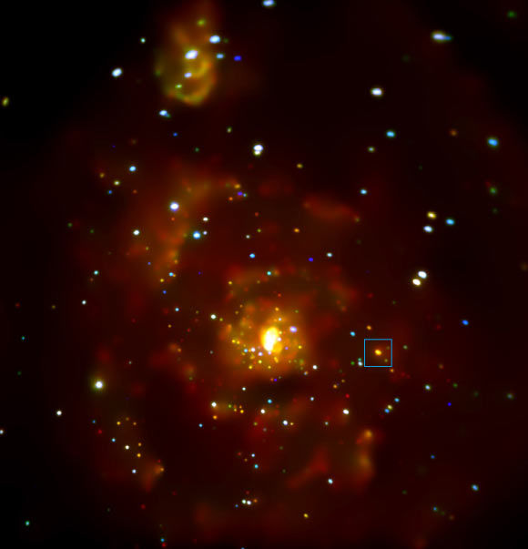 Chandra Spots Possible Extragalactic Planet in Messier 51 Image_8911-M51-ULS-1b