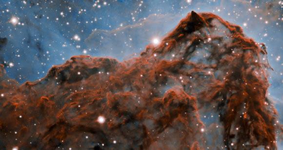 Carina Nebula's Western Wall Image_8920-Carina-Nebula
