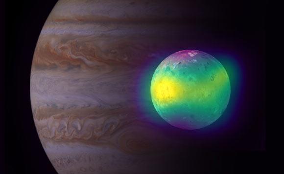 ALMA Spots Volcanic Plumes on Jupiter's Moon Io Image_8975-Io-Plumes