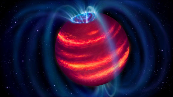 LOFAR Radio Telescope Directly Detects New Brown Dwarf Image_9032_1-BDR-J1750-3809