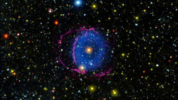 Stellar Merger Produced Blue Ring Nebula Several Thousand Years Ago Image_9067-Blue-Ring-Nebula