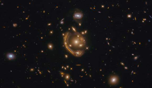 Astronomers Study 'Molten Einstein Ring' in Detail Image_9147-Molten-Ring