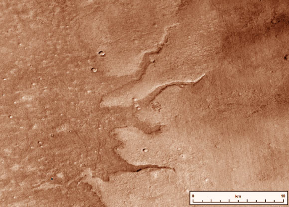 Map of Early Mars' River Systems Image_9186-Mars-Fluvial-Ridges