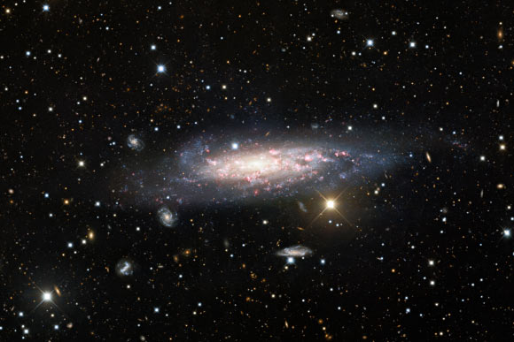 Astronomers Capture Deep Image of Spiral Galaxy NGC 1003 Image_9238-NGC-1003