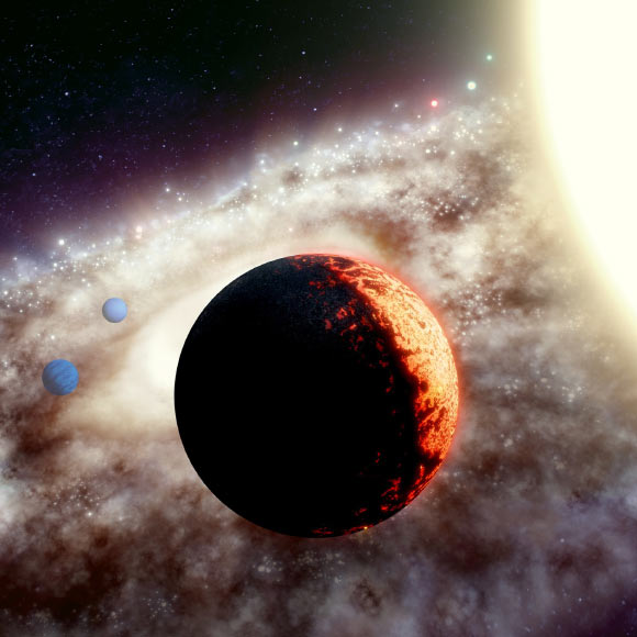 Astronomers Discover 10-Billion-Year-Old Multiplanet System Image_9247-TOI-561b