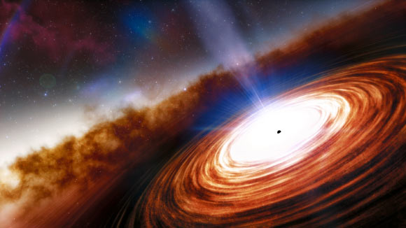 Astronomers Discover Most Distant Quasar Yet Image_9251-J0313-1806