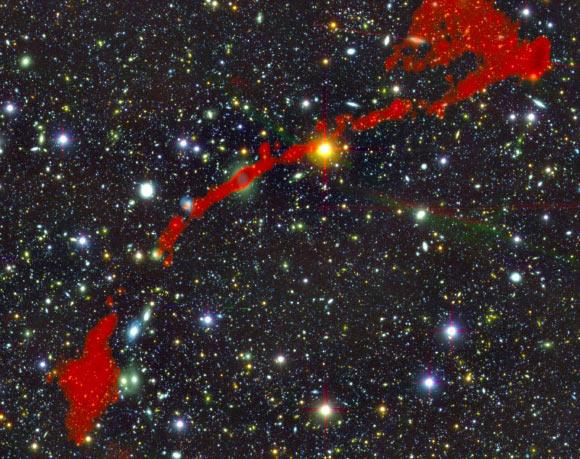 Two New Giant Radio Galaxies Discovered Image_9266_1-Giant-Radio-Galaxy
