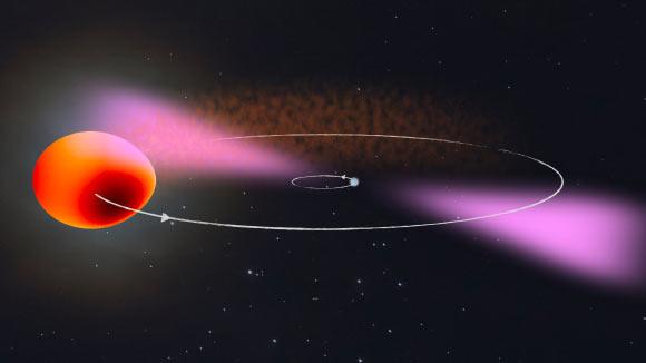 Astronomers Discover Rare 'Redback' Millisecond Pulsar Image_9321-PSR-J2039-5617
