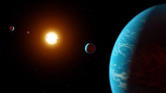 Astronomers Discover Sixth Planet in K2-138 Planetary System Image_9431-K2-138
