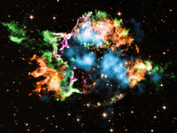 Chandra Detects Stable Isotope of Titanium in Cassiopeia A Image_9602-Cassiopeia-A-Titanium