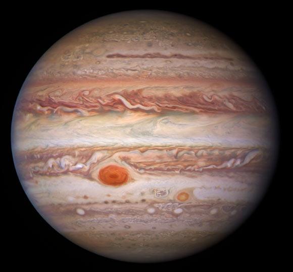 Astronomers Capture Stunning New Images of Jupiter Image_9648_1-Jupiter