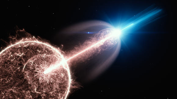 High-Energy Gamma Rays from Afterglow of Long Gamma-Ray Burst Image_9730-GRB-190829A