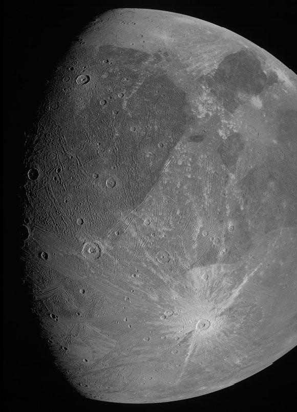 NASA's Juno Orbiter Completes Close Flyby of Ganymede Image_9746_1-Ganymede