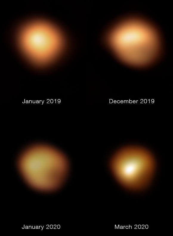 Dust Cloud Caused Betelgeuse's Great Dimming Event Image_9772-Betelgeuse