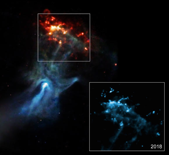NASA's Chandra X-ray Observatory Watches Fast Blast Wave from Exploded Star Image_9798-MSH-15-52