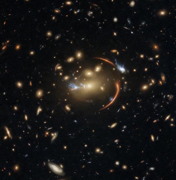 Hubble Observes Multiply-Imaged, Gravitationally Lensed Supernova Image_9873_1-AT2016jka