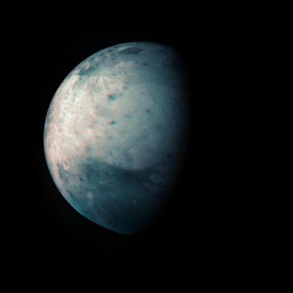 Juno Team Creates Infrared Map of Ganymede Image_9941_2-Ganymede