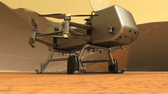 NASA's Dragonfly Mission to Saturn's Moon Titan Has Big Science Goals Image_9949-Dragonfly