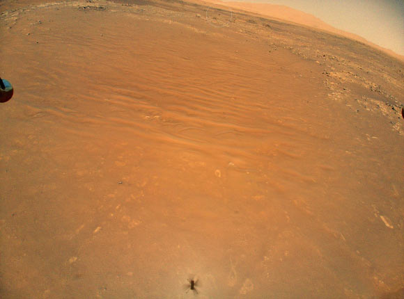 Ingenuity Helicopter Captures Image of Perseverance Rover Image_9956-Perseverance