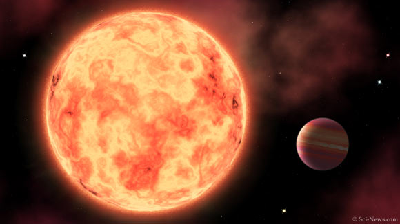 New Ultrahot Jupiter Contains Iron in Its Atmosphere Image_10113-TOI-1518b