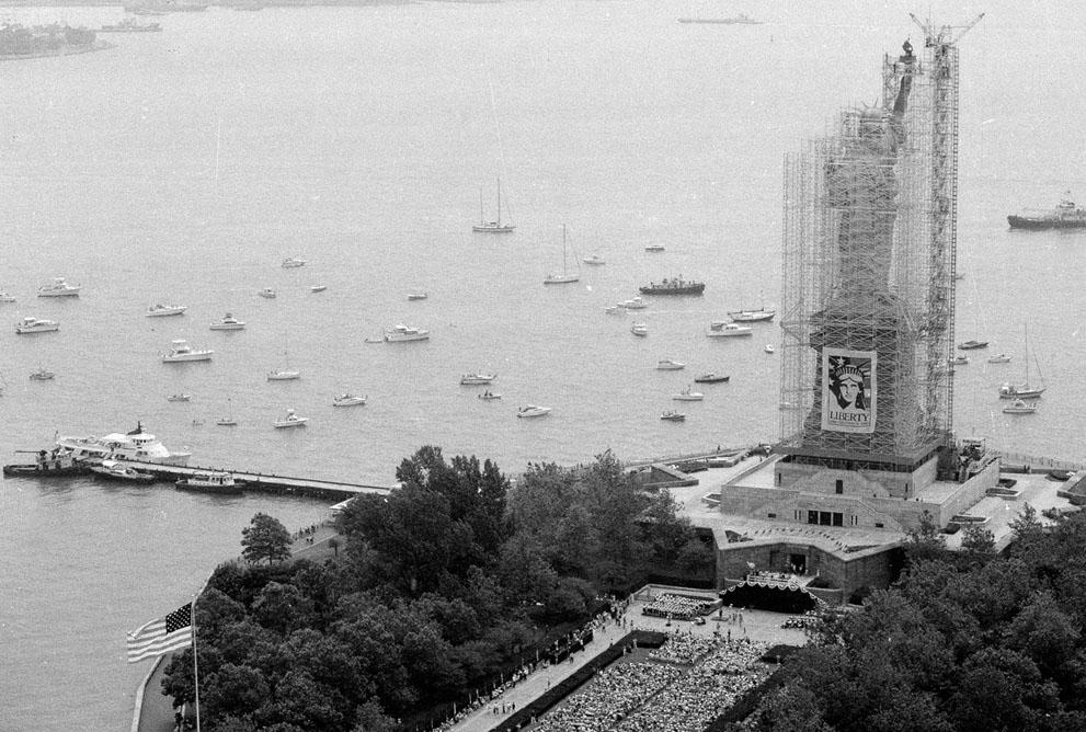 [The Big Picture] Tượng Nữ thần Tự do - 127 năm tại cửa ngõ của nước Mỹ S_l14_07040115