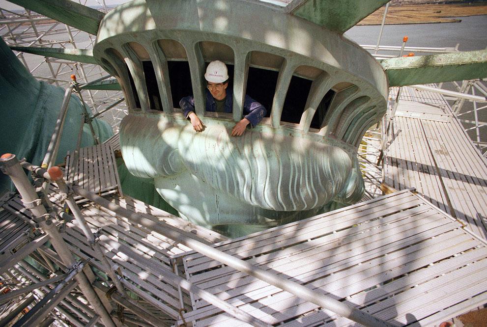 [The Big Picture] Tượng Nữ thần Tự do - 127 năm tại cửa ngõ của nước Mỹ S_l18_04040208