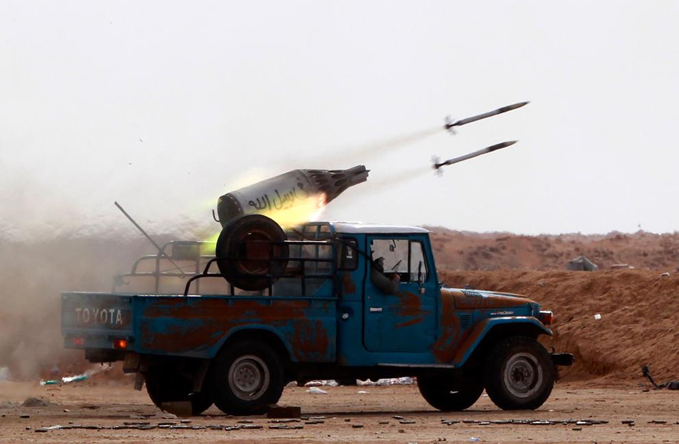 Libyan Rebel's Weapons Ingenuity S_r13_RTR2LH8E