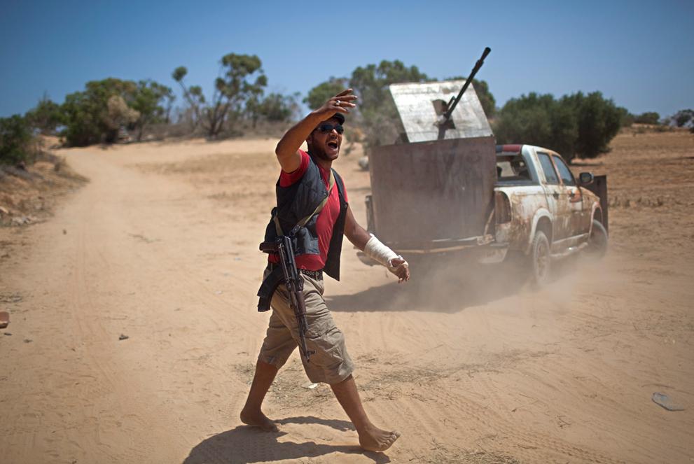 Libyan Rebel's Weapons Ingenuity S_r24_26021198